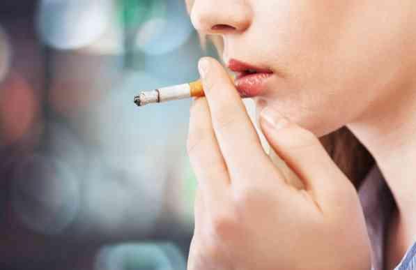 سیگار کشیدن قبل از خواب