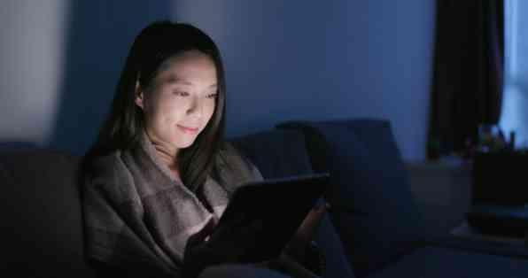 تماشای تلویزیون قبل از خواب
