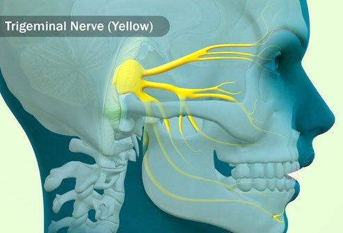 نورالژی تریژینال ممکن است هنگام غذا خوردن ، نوشیدن یا مسواک زدن باعث درد شود.